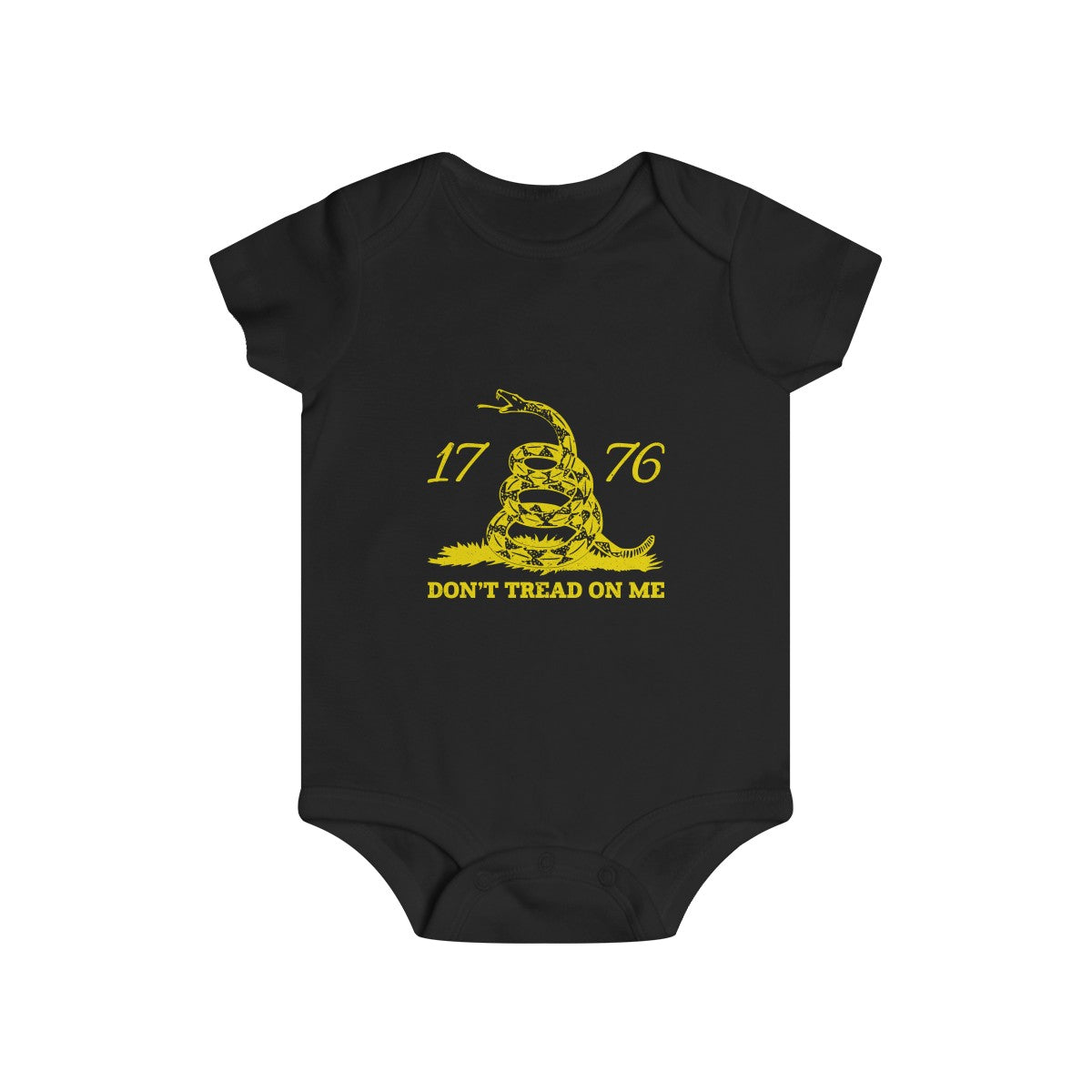 Don't Tread on Me Infant Rip Snap Tee