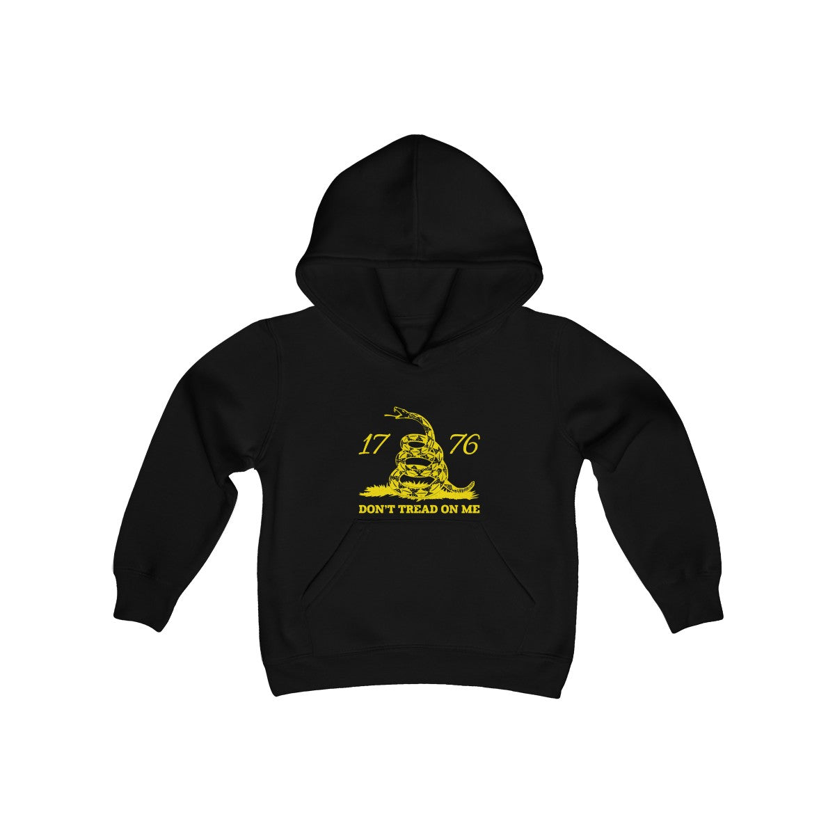 Don't Tread on Me Youth Heavy Blend Hooded Sweatshirt