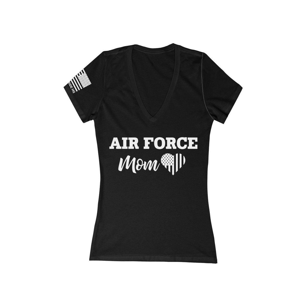 Air Force Mom Women's V-Neck Tee