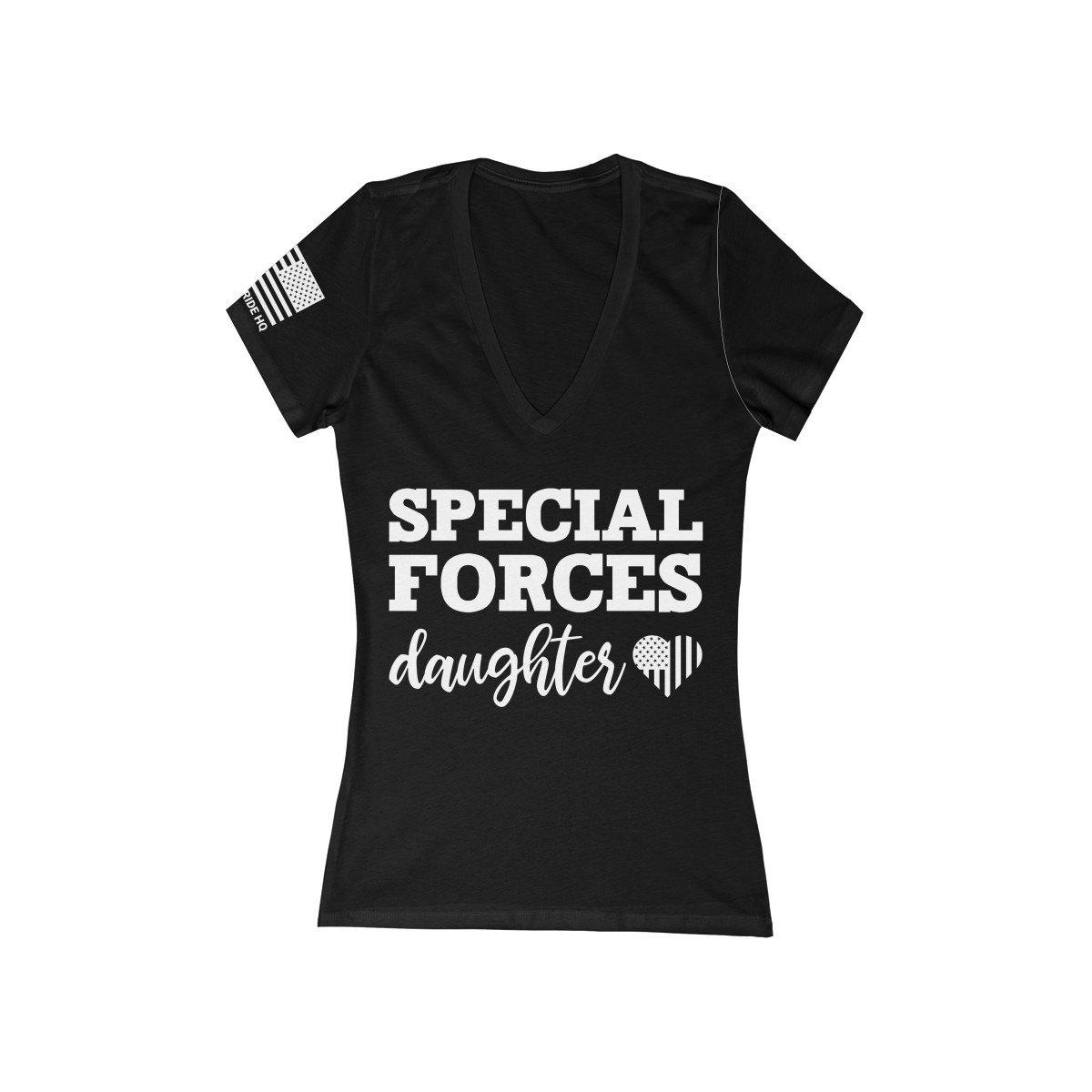 Special Forces Daughter Women's V-Neck Tee