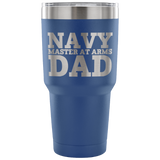 US Navy Master at Arms Dad 30oz Tumbler