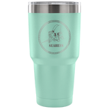 Seabee Logo on 30OZ Stainless Steel Vacuum Insulated Tumbler