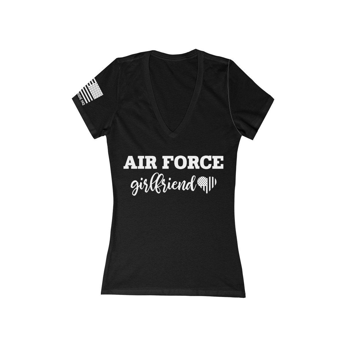 Air Force Girlfriend Women's V-Neck Tee