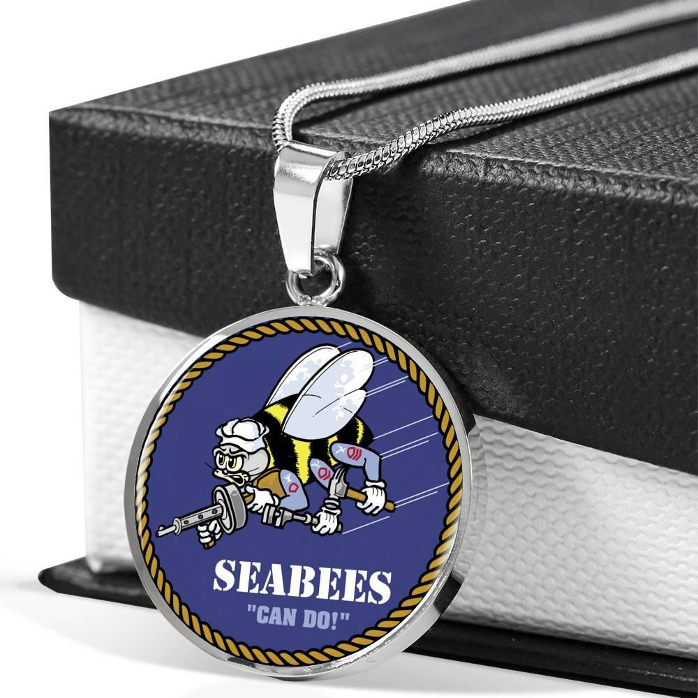 Seabee Pendant Necklace