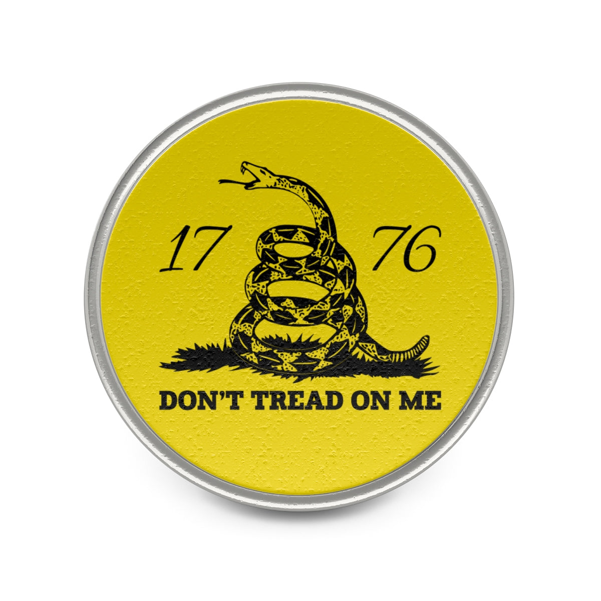 Don't Tread on Me Metal Pin