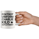 F*ck Deployment Coffee Mug