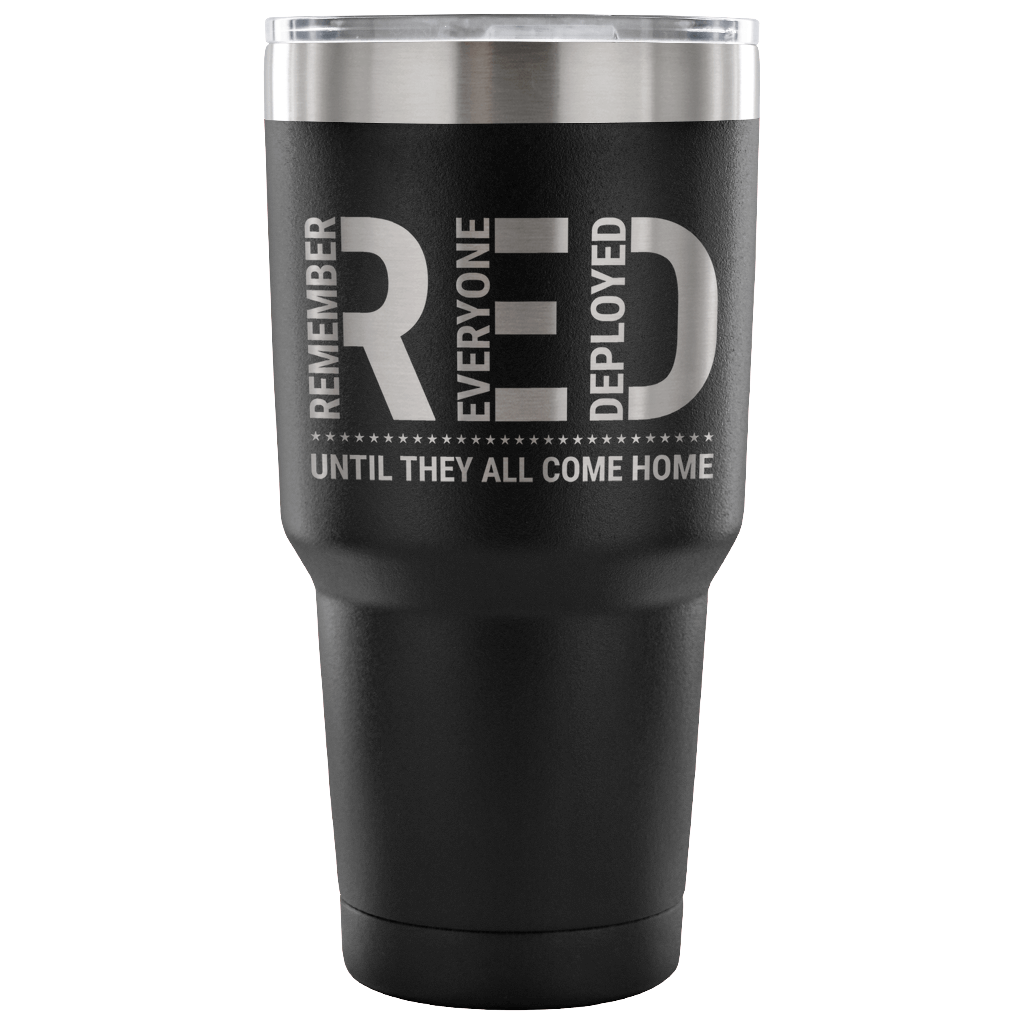 Remember Everyone Deployed 30oz Vacuum Tumbler