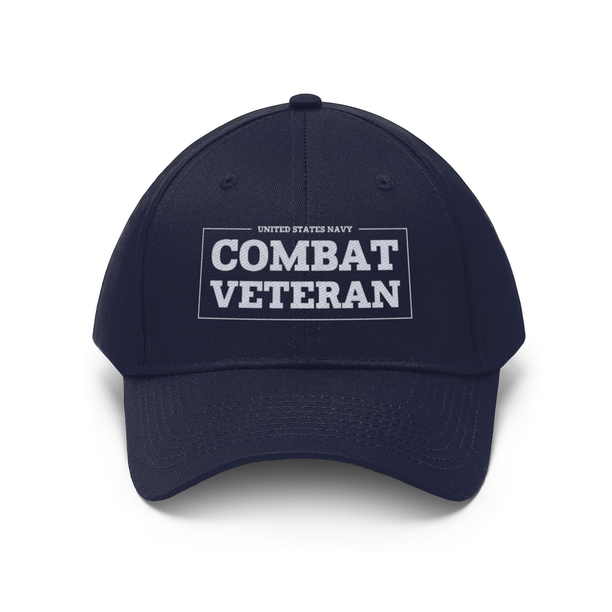 United States Navy Combat Veteran Twill Hat