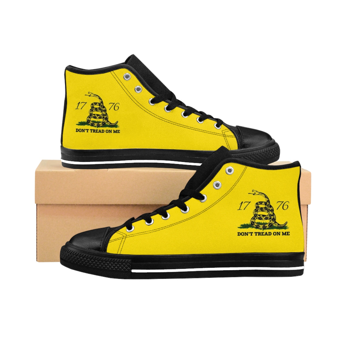 Don't Tread on Me Men's High-top Sneakers