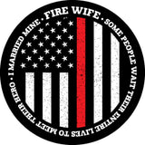 Firefighter Wife Pop Socket