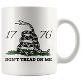 Don't Tread on Me 11oz Coffee Mug