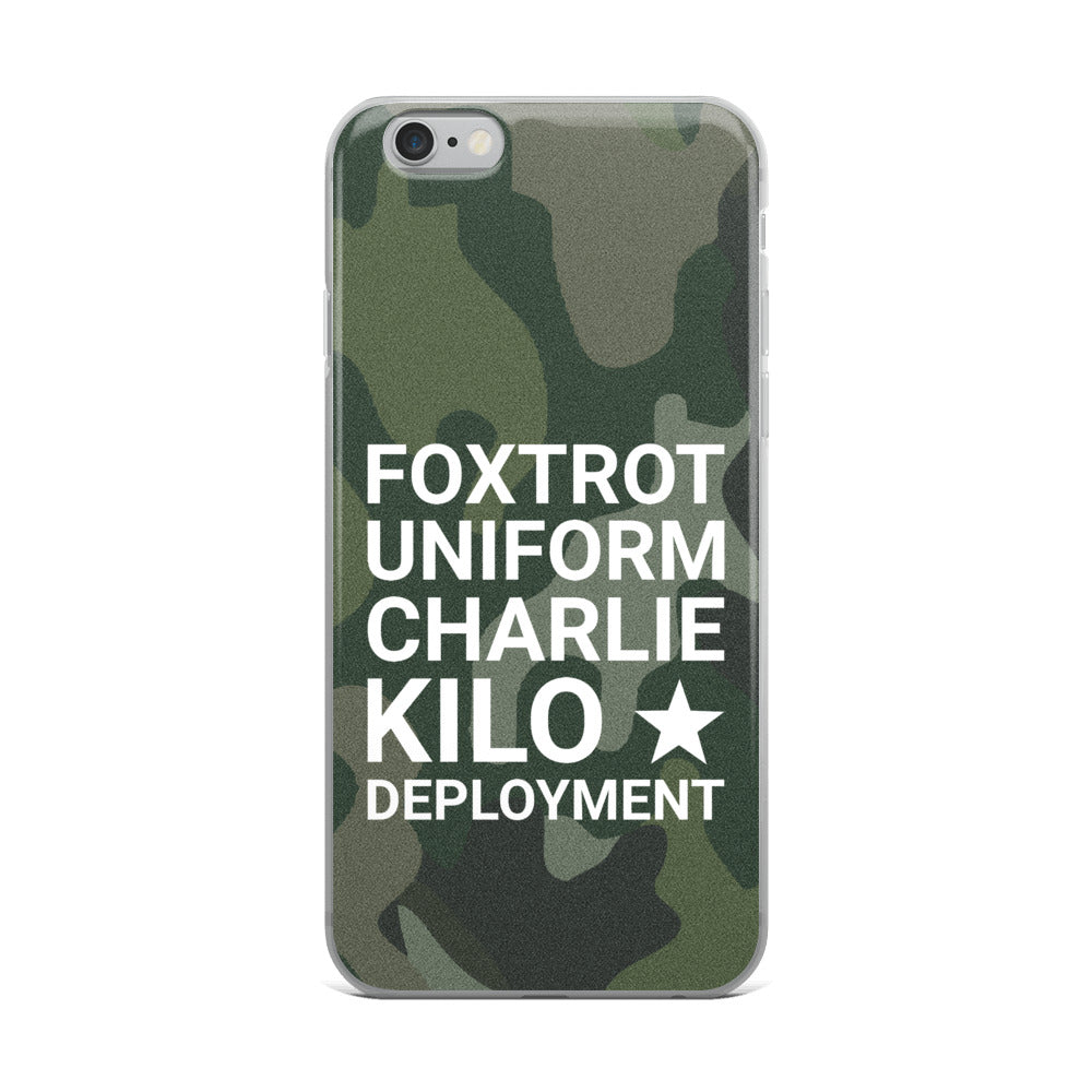 F*ck Deployment iPhone Case