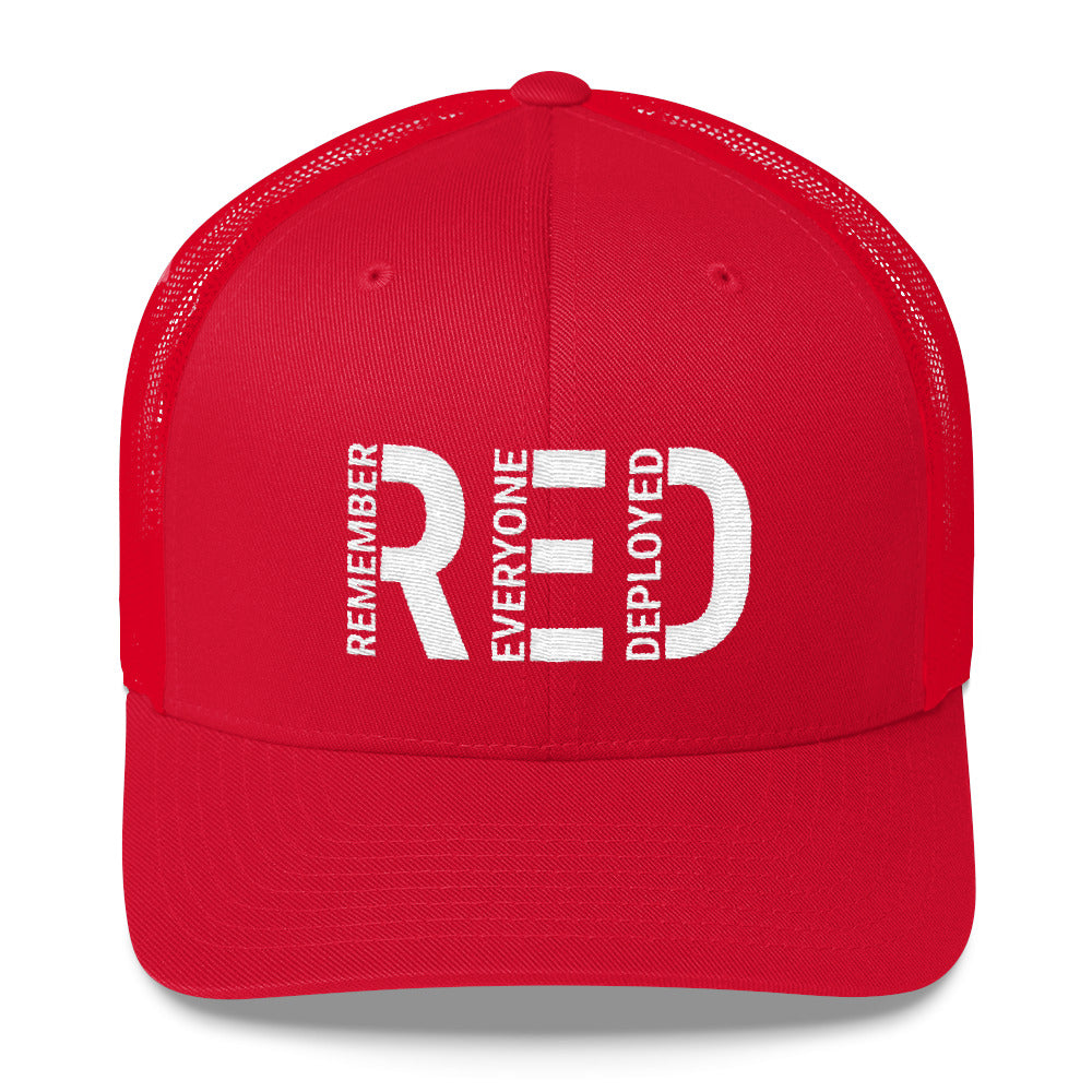 Remember Everyone Deployed Trucker Cap