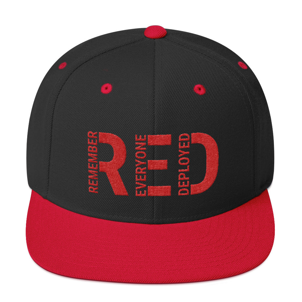 Remember Everyone Deployed Snapback Hat