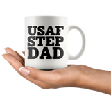 Air Force Step Dad Coffee Mug