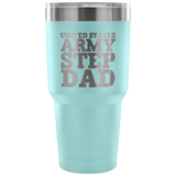 Army Step Dad 30oz Tumbler