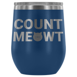 Count Meowt Wine Tumbler