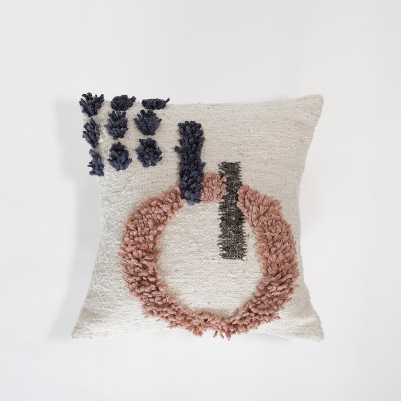 Las Pozas Wool Pillow
