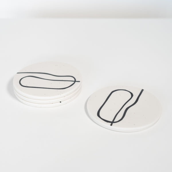 Squiggle Coaster Set of 4
