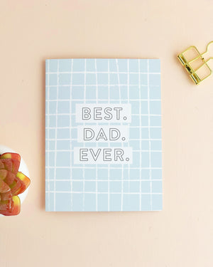 Best Dad Ever | Modern Father's Day Card