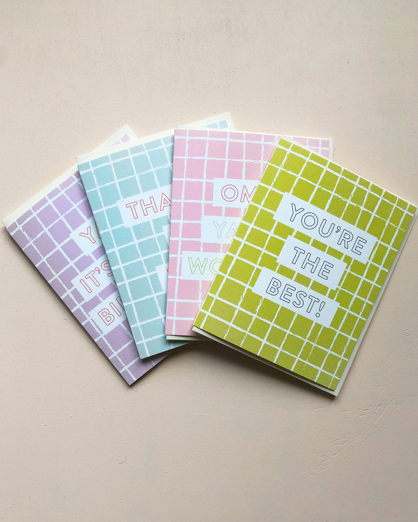 Boxed Set Window Pane Greeting Card Collection