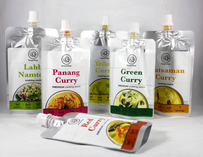 SimpliThai cooking sauces (regular)