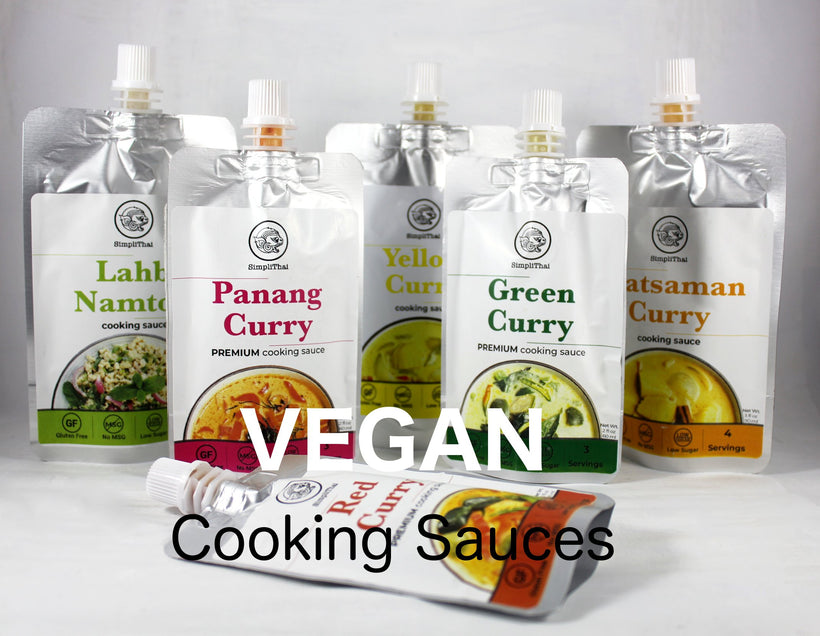 SimpliThai cooking sauces (VEGAN)