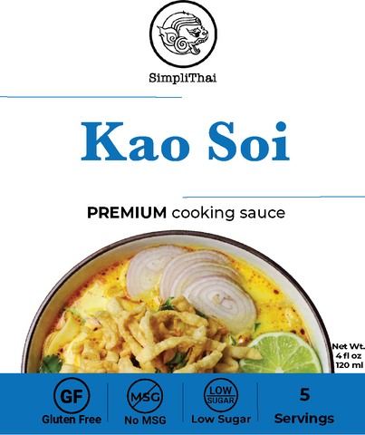 Kao Soi cooking sauce