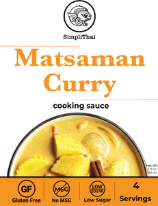 Matsaman Curry cooking sauce