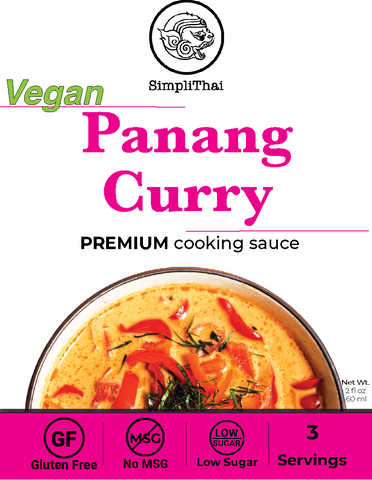 VEGAN Panang Curry cooking sauce
