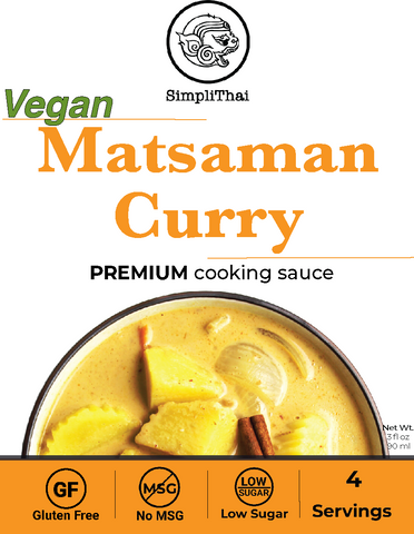 VEGAN Matsaman Curry cooking sauce