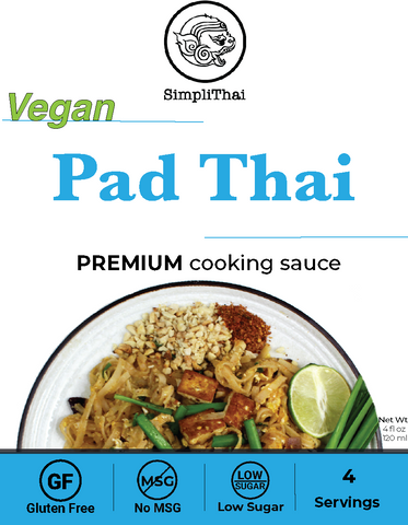 VEGAN Pad Thai cooking sauce