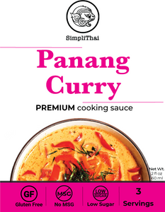 Panang Curry cooking sauce