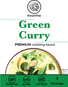 Green Curry cooking sauce