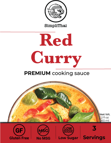 Red Curry cooking sauce