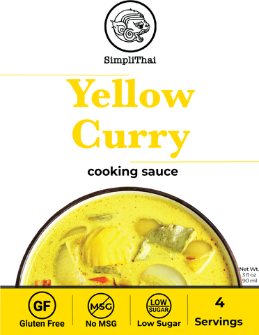 Yellow Curry cooking sauce