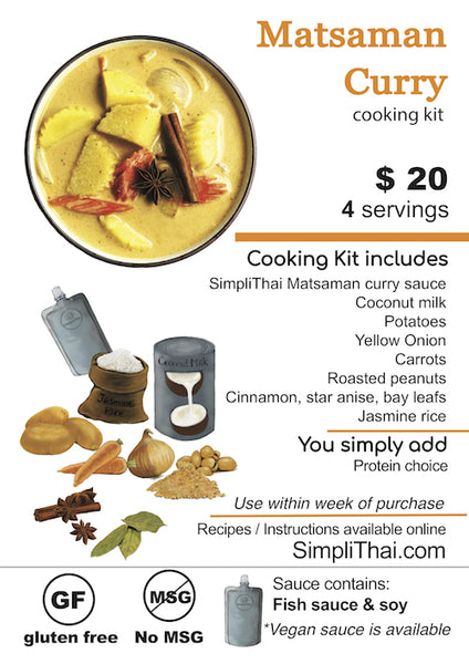 Matsaman Curry cooking kit
