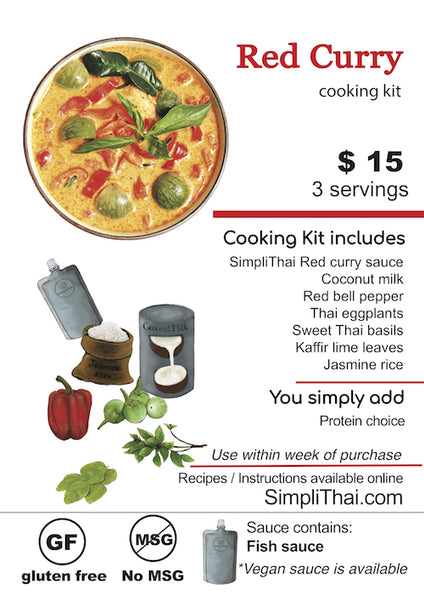 Red Curry cooking kit