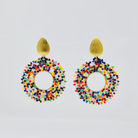 Gota de Color Earrings