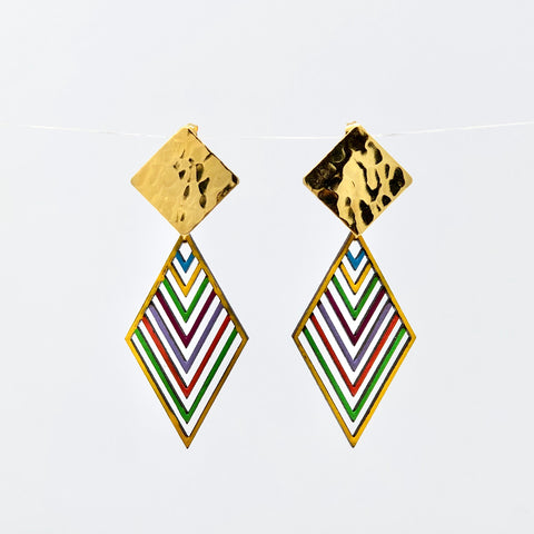 Cometa Multicolor Earrings