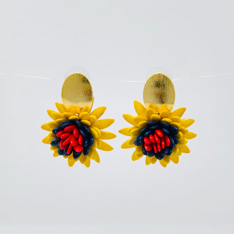 Pepitas de Melon Earrings
