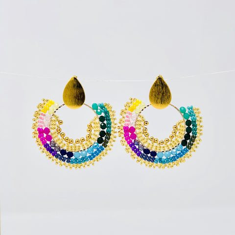 Asi Soy Beaded Drop Earrings