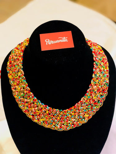 Chaquira Beaded Necklace