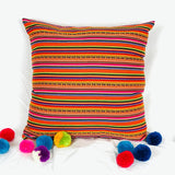 Peruvian Manta Throw Pillow