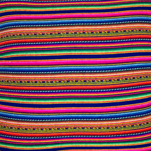 Load image into Gallery viewer, Peruvian Manta Throw Blanket