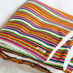 Peruvian Manta Throw Blanket