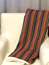 Load image into Gallery viewer, Peruvian Manta Throw Blanket (One of a Kind Limited Edition)