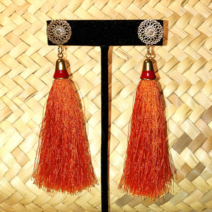 Naranja Tassel Earrings
