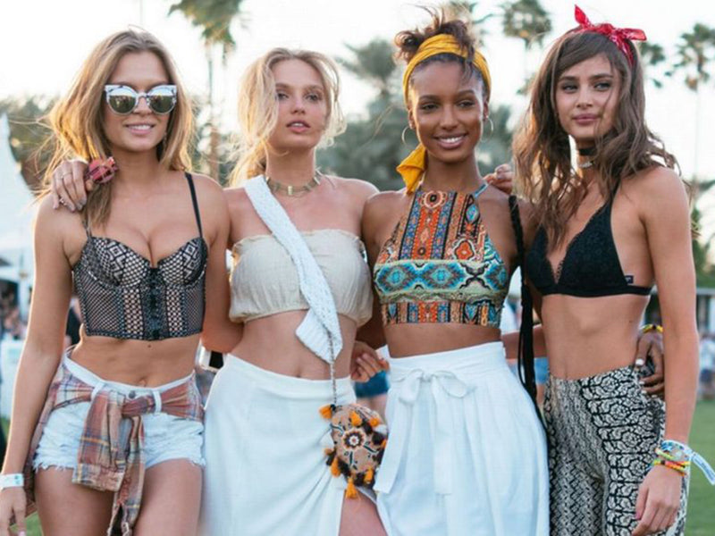The Best 2018 Festival Fashion Moments