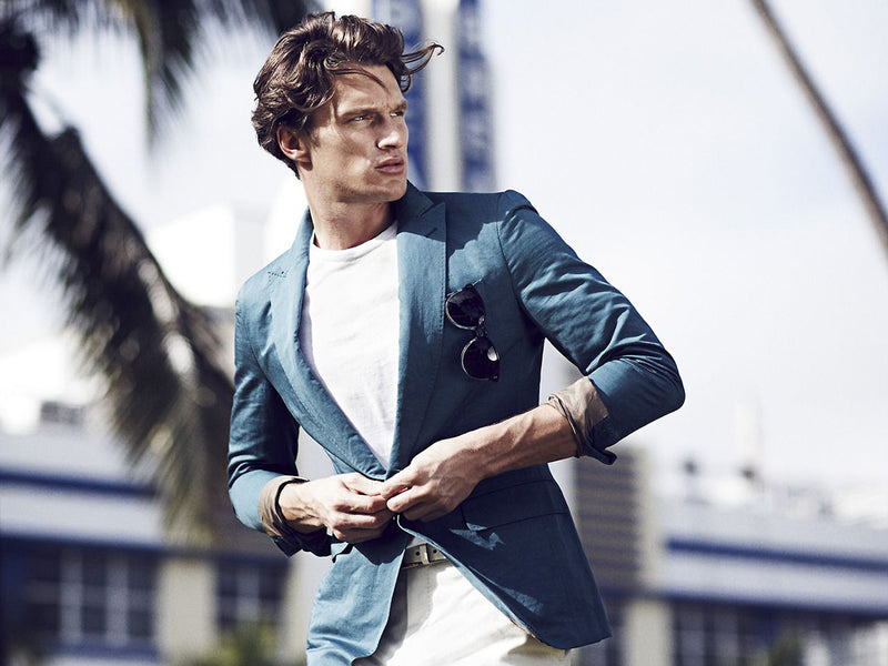 Summer Suiting For Men